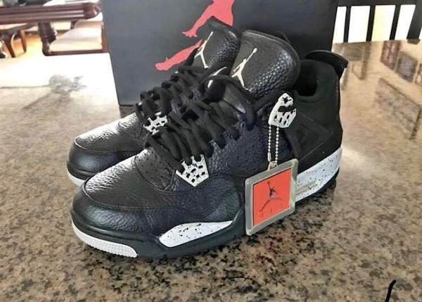 on sale 30a78 4f449 Used AIR JORDAN 4 RETRO LS OREO SIZE 11 for sale in Loudon