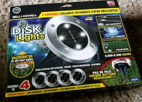 Disk lights in the box