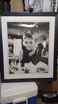 Audrey Hepburn framed photo Philadelphia