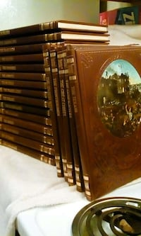 """Time Life """"The Old West"""", Set of 20, leather-bound Reno"""
