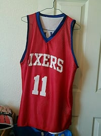 Sixers mens large