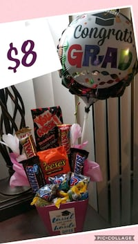 You rock graduation gift with balloon  Whittier, 90601