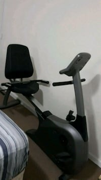 black and gray recumbent stationary bike 42 km