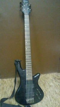 Black Schecter Diamond Series 5-string bass guitar Denver, 80216