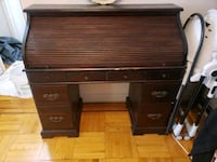 brown wooden roll top desk The Bronx, 10460