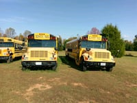 two yellow school buses Elon, 27244