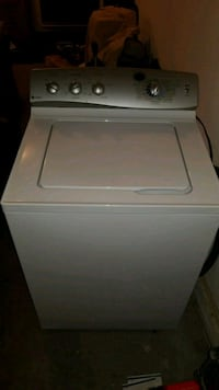 white top-load clothes washer Abbotsford