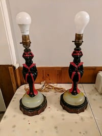 Pair of Saint Barbara lamps Niagara Falls, L2E 3K9