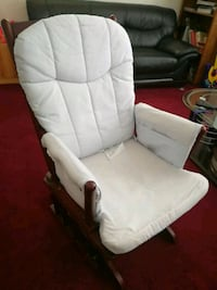white padded glider chair Daly City, 94014