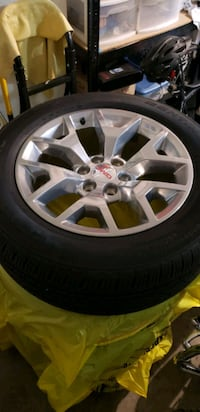 New 20in wheel and tires. Portland, 97229