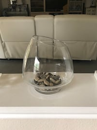 Large fish bowl or plant container