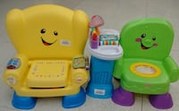 (38) Learning chairs Fisher Price $12 each Etobicoke