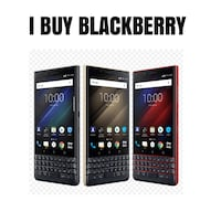 i will buy your blackberry key 2, blackberry motion, blackberry keyone Toronto