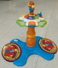 (190) VTECH Sit to stand Dancing Tower $15 Etobicoke