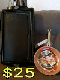 Griddle n new nonstick pan Las Cruces, 88005