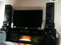 Prof. Sound System electronics incl. Subwoofers, equalizer and more.  Las Vegas, 89128
