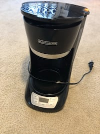 black and gray Black & Decker coffeemaker Charles Town, 25414