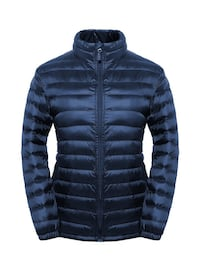 e blaaa nero zip-up bolla giacca Cellole, 81030