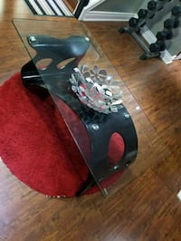 black and red wooden table Mississauga, L5L 3H1