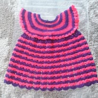 Hand Crochet Baby Girl Dress  Brambleton