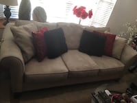 Suede - Sofa and Loveseat Combo Gardena, 90249