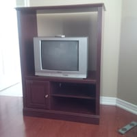 TV Stand and TV included TORONTO