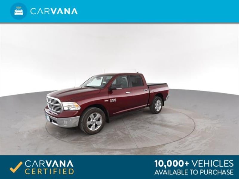 2016 Ram 1500 Crew Cab pickup Big Horn Pickup 4D 5 1/2 ft Red <br 5