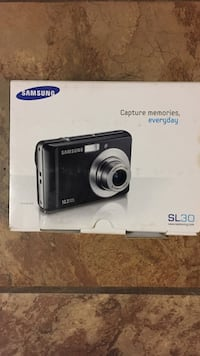 Samsung SL30 compact camera box Woodbridge, 22193
