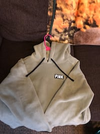Brand New Victoria Secret Pink fleece hoodie size Large  Williamsburg, 23185