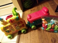 toddler's red and green plastic toy Houston, 77090