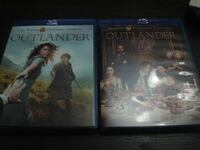 Serie 1-2 Temporada OUTLANDER BLU-RAY