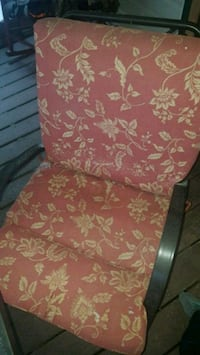 red and white floral fabric sofa chair New Oxford, 17350