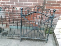 Vintage iron gate and 2 sections of fence Philadelphia, 19127