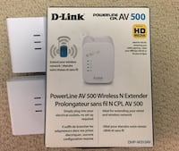 Powerline wireless extender plus two more adapters Toronto, M6P 0A1