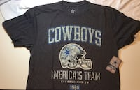 Dallas Cowboys Banner Helmet Comfy Shirt Little Rock