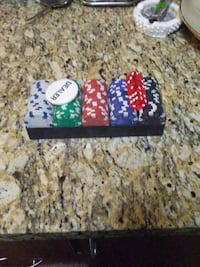 poker chip set with case Brampton, L6V 1V5