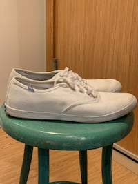 White Keds Champion Shoes Mens - size 10.5 Vancouver, V6A