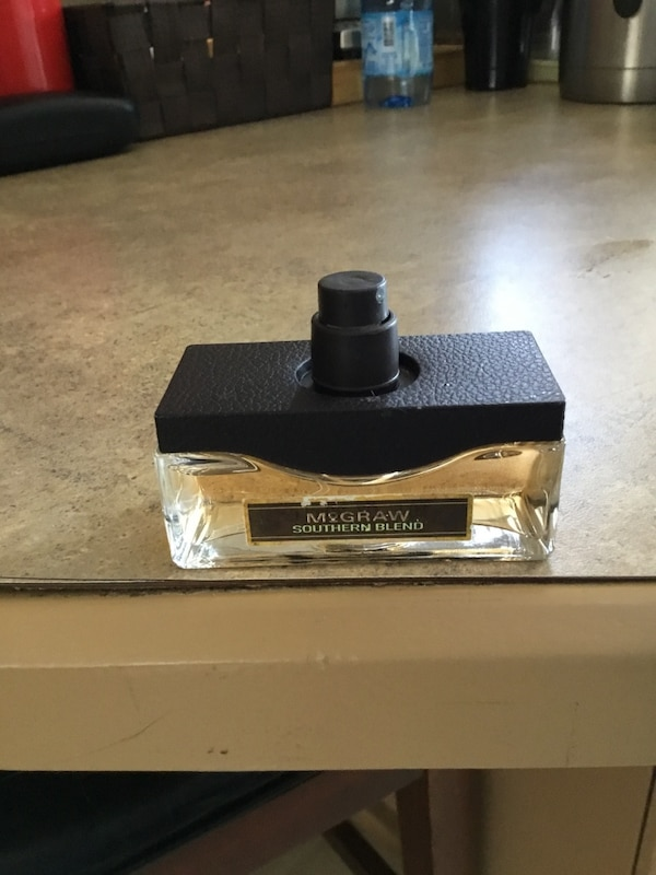 MENS MCGRAW SOUTHERN BLEND COLOGNE BRAND .