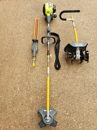 Ryobi 4 Cycle Trimmer Weedeater & Accessories