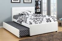 BED DOUBLE WITH SINGLE TRUNDEL Toronto, M6N 3G1