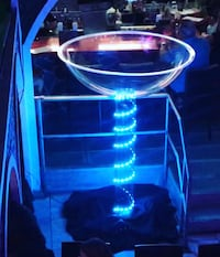 Life size martini glass prop. This is a custom build one of a kind.  Boca Raton, 33487