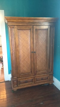 Armoire cabinet wood b