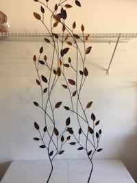 Metal Leaf design Art Wall Decor / Artwork / Wall Art Lansdowne