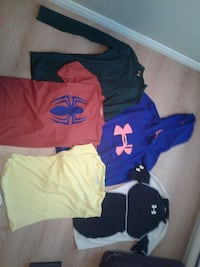 five assorted clothe lot Kitchener, N2M 1W9
