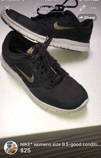 NIKE* womens sneakers size 9.5-good condition cleaned London, N5W 6E2
