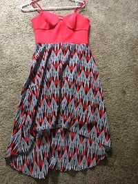 women's red and blue sleeveless dress Manassas Park, 20111