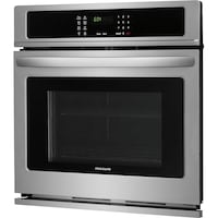 Frigidaire electric wall oven stainless steel