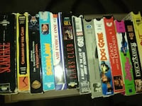 assorted vhs movie case lot Shallowater, 79363
