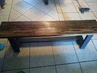 Handcrafted stained sealed bench Orange Park, 32073