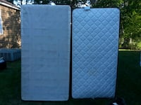 two white and blue mattresses Grovetown, 30813